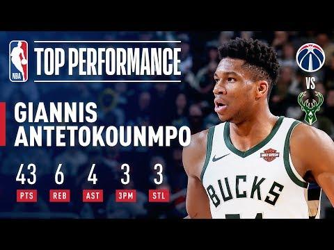 Giannis Antetokounmpo Drops An EFFICIENT 43 Points   February 6, 2019