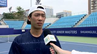 Hong Seong Chan advances to the ITF Junior Masters final