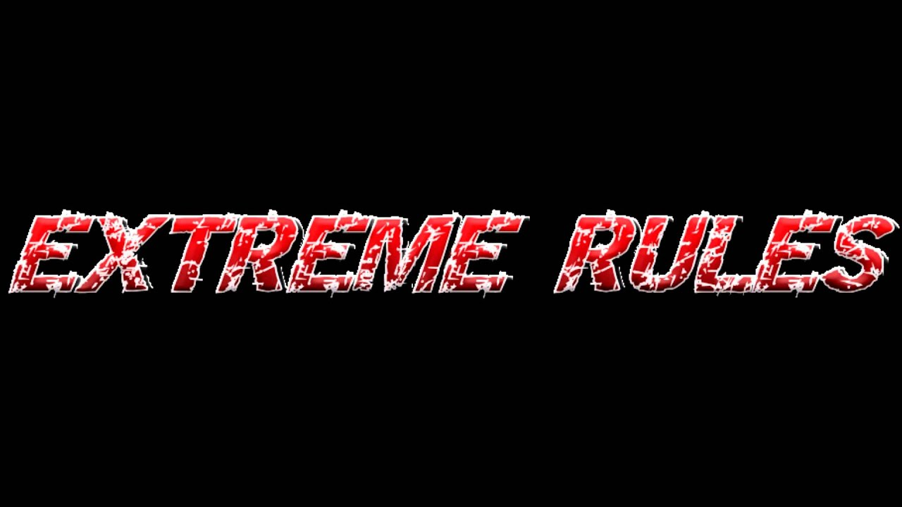 WWE Extreme Rules 2012 CUSTOM Logo and Theme - YouTube