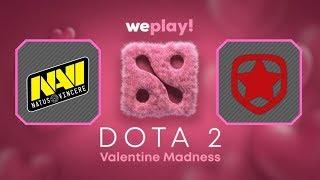 Navi vs Gambit  / Semi-Finals / Bo3 / WePlay! Dota 2 Valentine Madness / Dota 2 Live