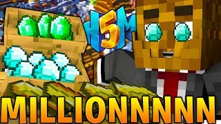 $$$$$ MILLION DOLLARS ON THE SERVER!!! - HOW TO MINECRAFT S5 #5