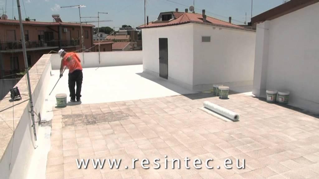 Impermeabilizzazione in resina di terrazzi e lastrici solari _ ...