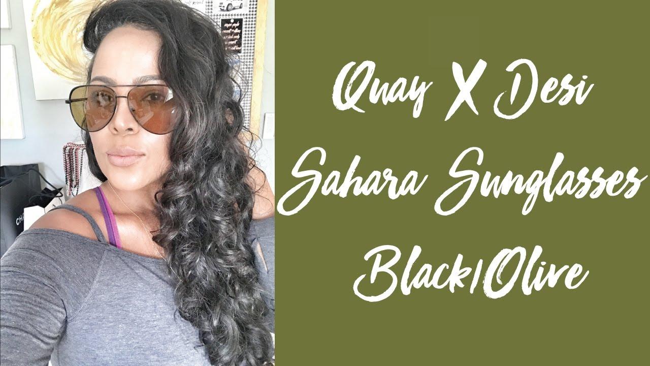 8df6610da5 Quay Sahara Olive Desi Perkins - YouTube