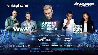 Armin Van Buuren, W&W, Sunnery James, Ryan Maciano @ Live Vietnam 2017