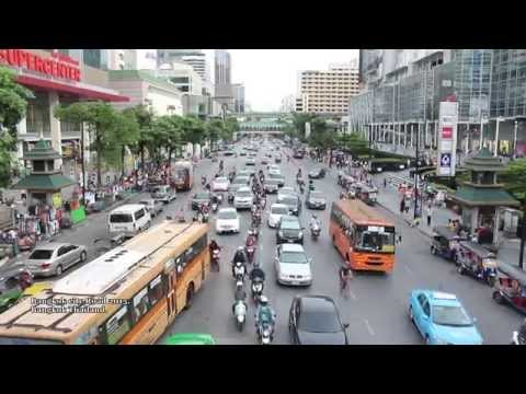 2015 New Bangkok city Road in Thailand - HD