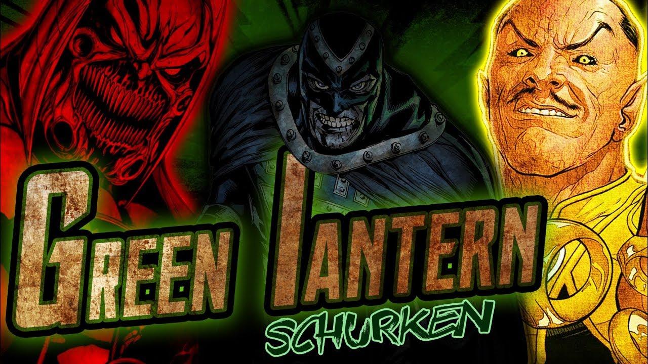 Green Lantern Bösewicht