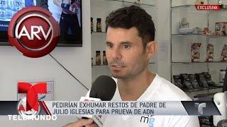 Presunto hijo de Julio Iglesias presentó demanda de paternidad | Al Rojo Vivo | Telemundo