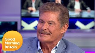 David Hasselhoff on Being the Face of Freedom for the Collapse of Berlin Wall | Good Morning Britain YouTube Videos