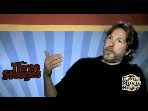 The Three Stooges - Peter Farrelly Interview