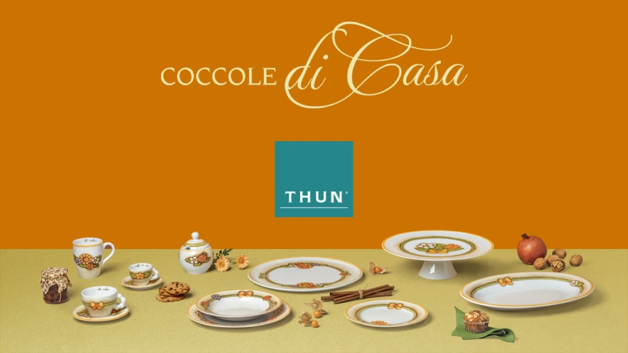 conad thun imperdibile collezione country in porcellana