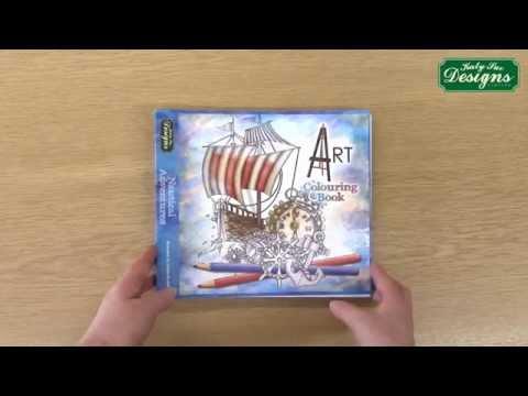 Nautical Adventures - Art Colouring Book