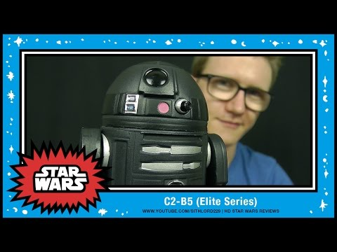 C2-B5 | Elite Series Die-Cast Action Figure (Disney Store Exclusive) | HD Review