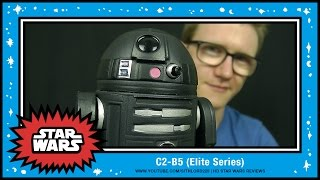 c2 b5   elite series die cast action figure disney store exclusive   hd review