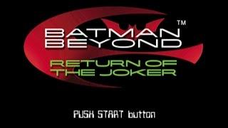 PSX Longplay [341] Batman Beyond: Return of the Joker
