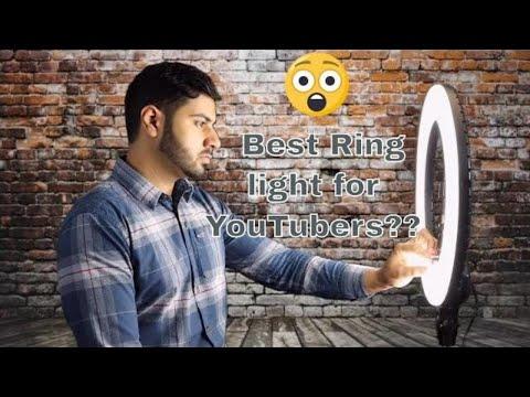 Ring Light for YouTube Videos Review| Best YouTube Lighting |™Rmit Sharma - OFFICIAL