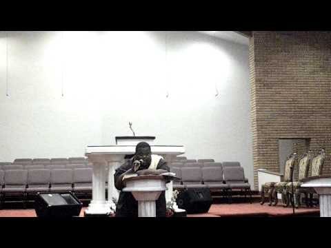 Marlin Jackson(teddy bear) first sermon