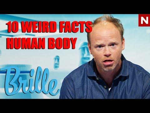 Brille | 10 rare fakta om menneskekroppen | TVNorge