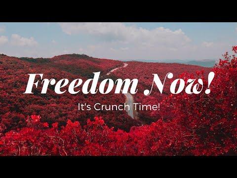 Freedom Now - It's Crunch Time!  Webinar