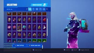Fortnite Battle Royale GALAXY Skin With Every Back Bling and contrail Fortnite Battle Royale GALAXY Skin With Every Back Bling and contrail Fortnite Battle Royale GALAXY Skin With Every Back Bling and contrail Fortnite