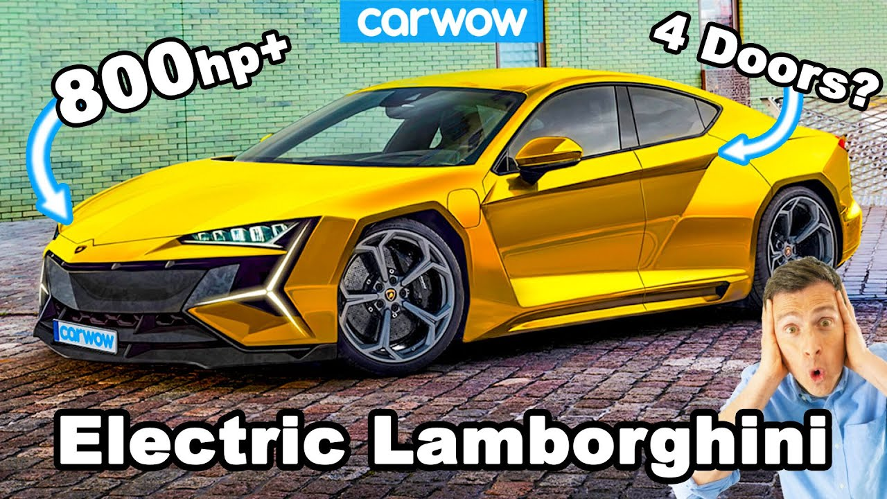 New Lamborghini 800hp ELECTRIC CAR - what you need to know!