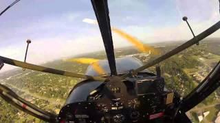 Stinson L-5 Takeoff & Landing