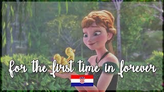 Frozen - For The First Time In Forever (Croatian) S&T