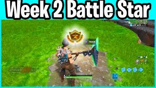 Week 2 Season 10 Secret Battle Star - Fortnite Shootout at Sundown Loading screen Challenges