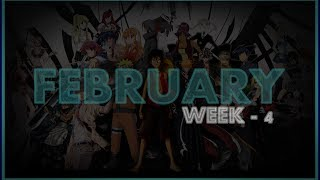 ► Top 20 | Anime Opening Charts | Week - 4 | Month (FEBRUARY) | (HD)