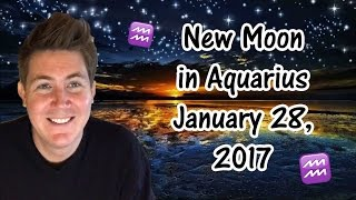 Aquarius New Moon 28 January 2017 | Gregory Scott Horoscopes