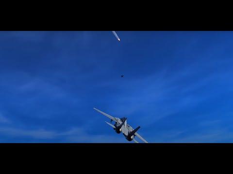 1981 Gulf of Sidra Incident 2 U.S. F-14s vs 2 Libyan SU-22s | DCS World Reeinactment