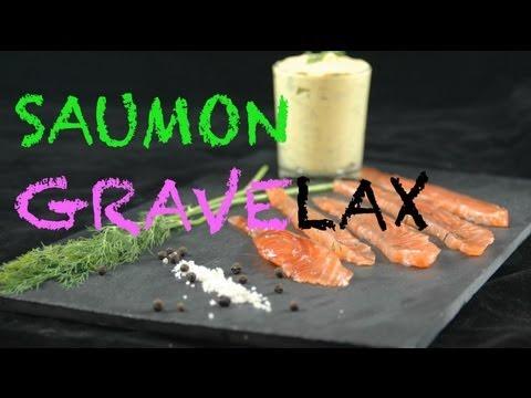 Saumon gravelax !