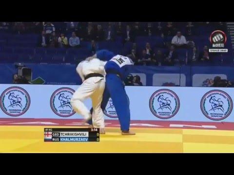 Россиянин Хасан Халмурзаев завоевал бронзу ЧМ по дзюдо в