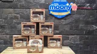 Bộ Chén Ăn Dặm Bằng Sợi Tre Yookidoo - Quà Tặng Moony