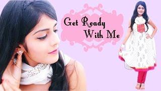 Get Ready With Me: Raksha Bandhan 2014 | Makeup, Hairstyle & Indian Outfit Thumbnail