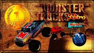 Gameplay PC HD Monster Trucks Nitro