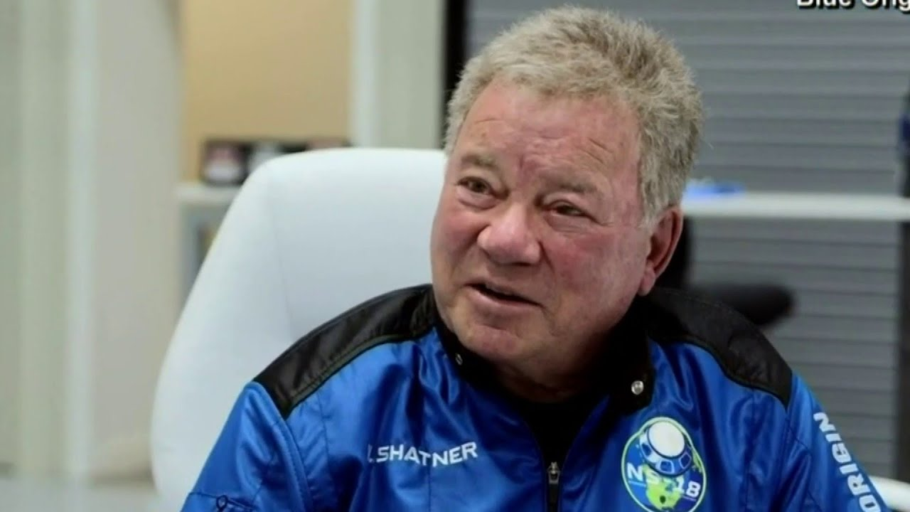 Capt. Kirk's William Shatner on cusp of blasting into space