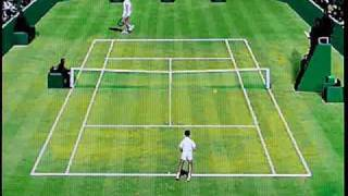 International Tennis Open by Infogames on Philips CD-i. Gameplay & Commentary