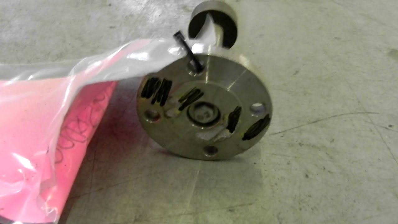 Used- Agitator Shaft, 316 Stainless Steel - Stock# 24958000