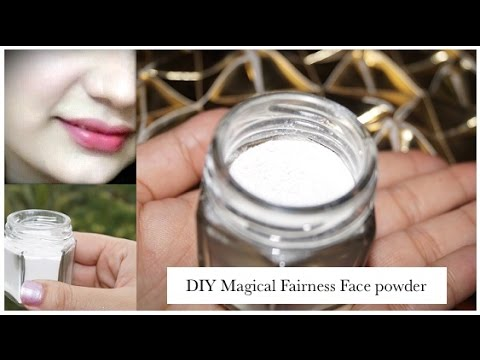 Magical Fairness Face Powder for Clear, Oil-Free, Silky & Fair Look