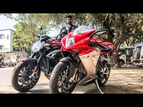 MV Agusta 800s - F3 or Brutale - Ride Vlog | Faisal Khan