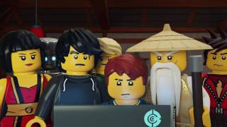 Steep Surveillance  - LEGO NINJAGO - Wu's Teas Episode 15
