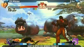 SSF4: STA Willpower vs El Ben - LOST IN SPACE 003
