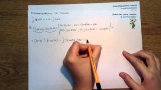 Урок 3 Интегрирование по частям