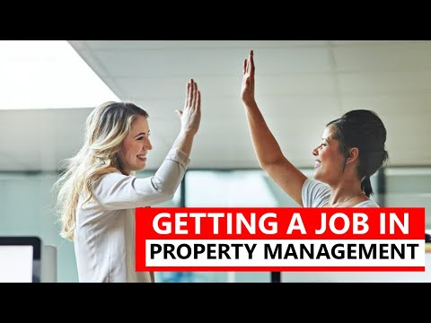 Getting A Job In Property Management