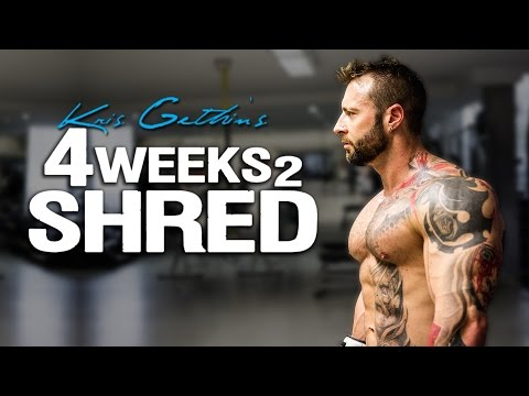Kris Gethin's 4Weeks2Shred Training Program
