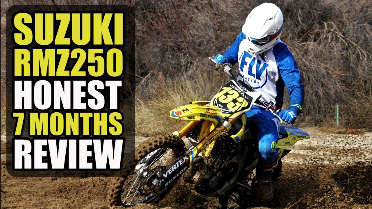 2020 Suzuki RMZ250 - Long term review