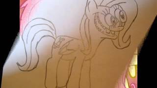 My Drawings Of Killershy.( Shed.mov Fluttershy)