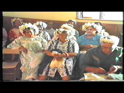 New Year eve's, Cook Islands Uapou, Aitutaki, Arutanga village community of Tokoroa NZ 1986.