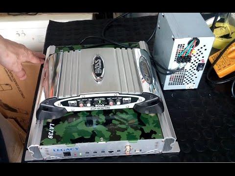Modificacion de fuente de pc para amplificador de audio - Fuente de pared ...