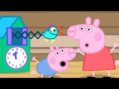 Peppa Pig en Español Episodios completos | El reloj cucú | Pepa la cerdita